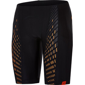 speedo Fit PowerMesh Pro zwembroek Heren oranje/zwart